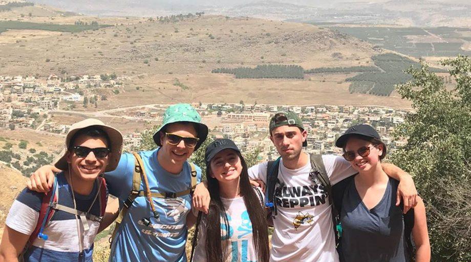 Hiking Israeli mountains