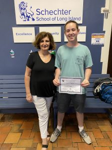 Daniel Neutra has won the Frederick Douglas and Susan B. Anthony Award through the University of Rochester.